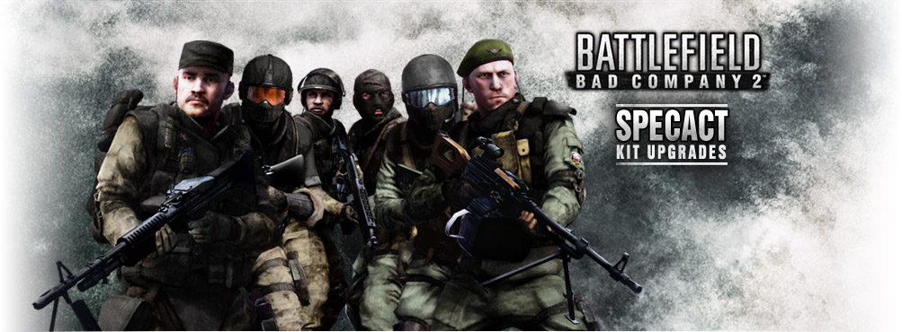 Battlefield: Bad Company™2 SPECACT Kit Upgrades