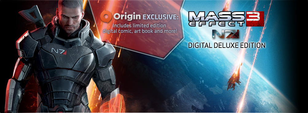 Mass Effect™ 3 N7 Digital Deluxe Edition