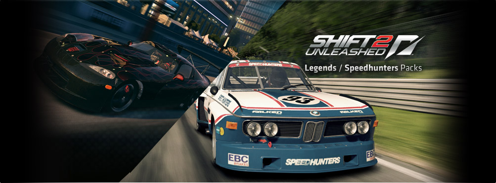 SHIFT 2 UNLEASHED™ PC DLC Pack (Versão Origin)