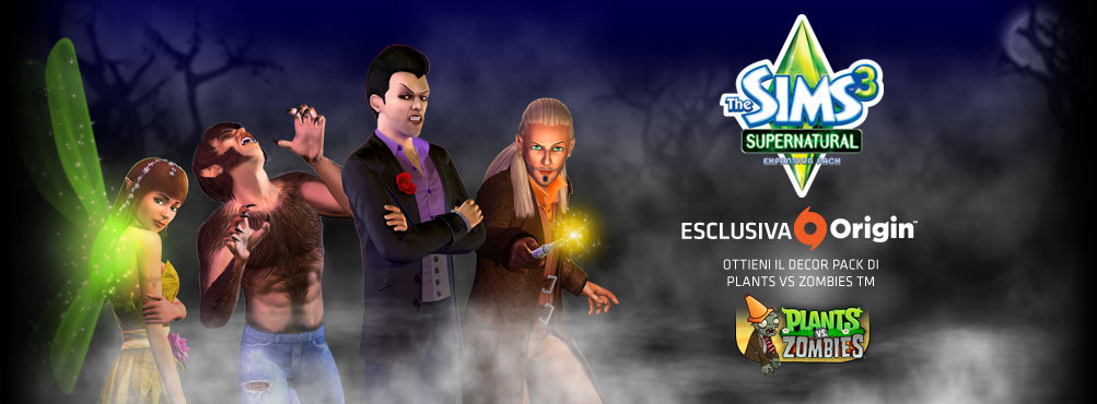 The Sims™ 3 Supernatural Expansion Pack