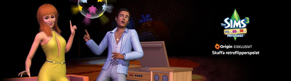 The Sims™ 3 70-tal, 80-tal, 90-tal Prylpaket