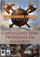 Warhammer Online Age of Reckoning: carta Game Time prepagata da 30 giorni