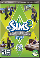 The Sims™ 3 High-End Loft Stuff