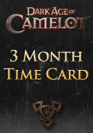 Dark Age of Camelot 3 Month Time Card