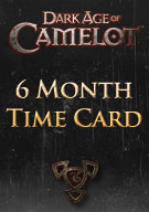 Dark Age of Camelot 6 Month Time Card
