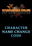 Warhammer® Online: Age of Reckoning® Character Name Change Code