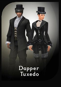 Guild Wars Online Store - Dapper Tuxedo