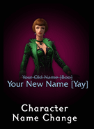 Character Name Change