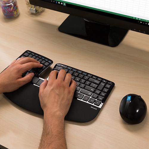 ASUS Australia Shop - Microsoft Sculpt Ergonomic Desktop