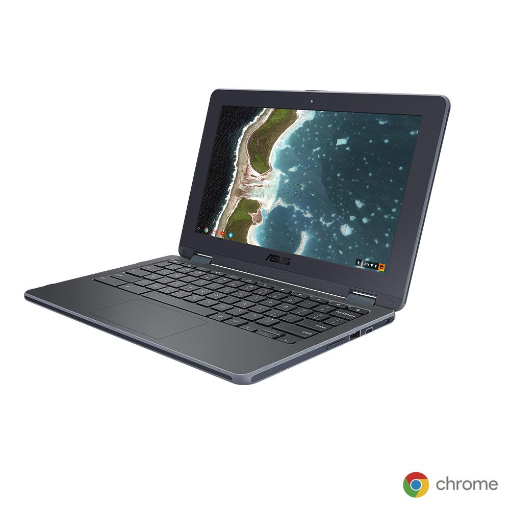 ASUS Chromebook Flip C213NA (C213NA-N3350・ダークグレー)