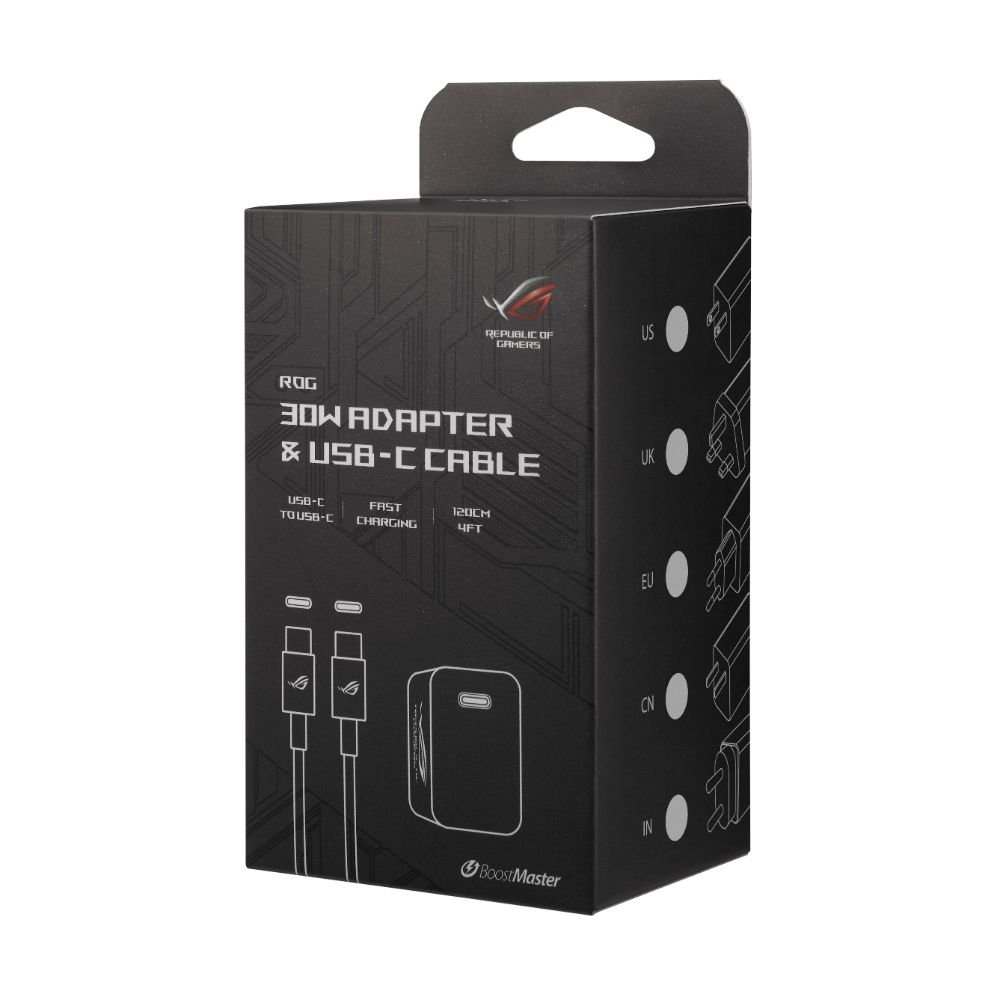ROG 30W Adapter & USB-C Cable (ROG_30W_ADAPTER)