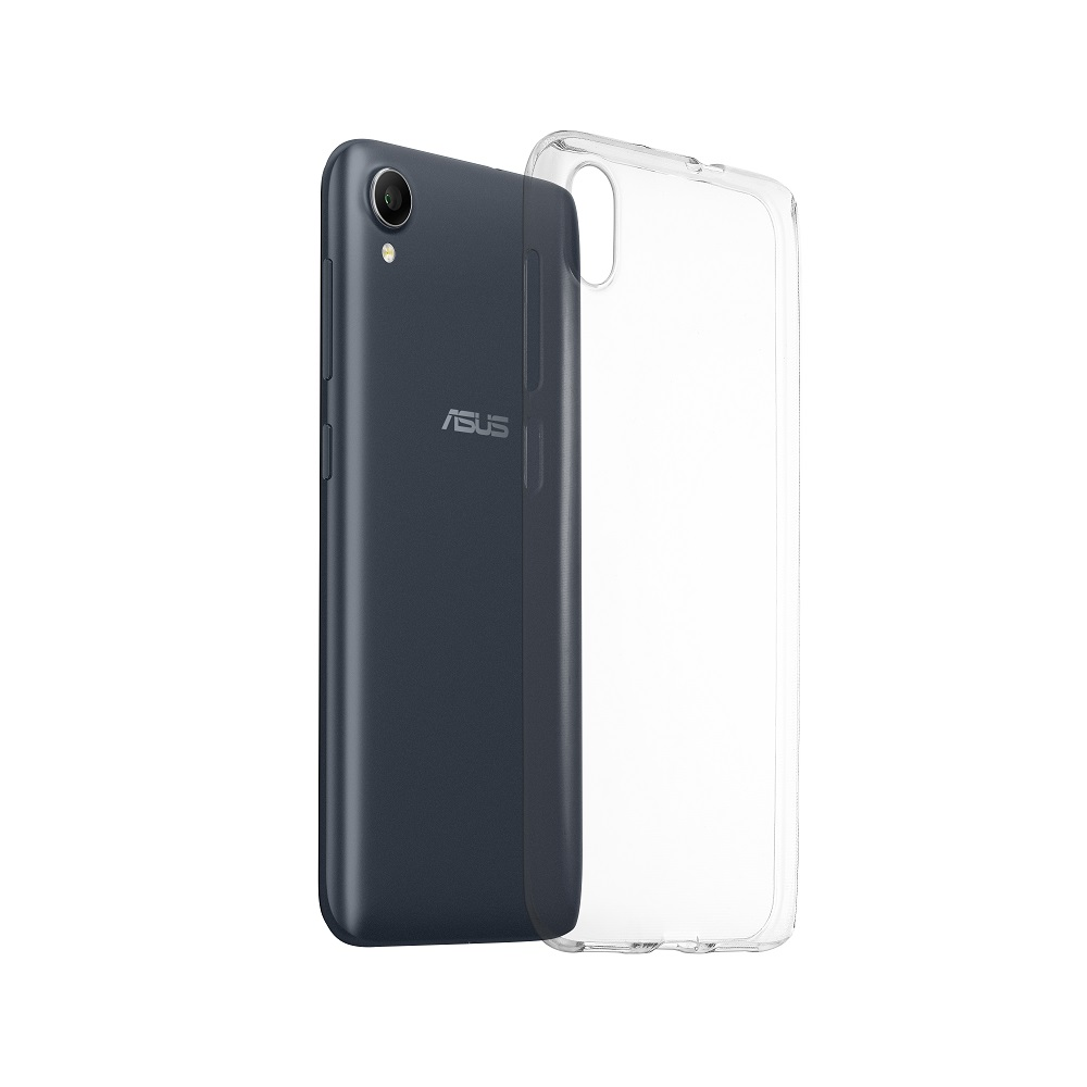ASUS Zenfone Live L1 (ZA550KL)専用 Clear Soft Bumper