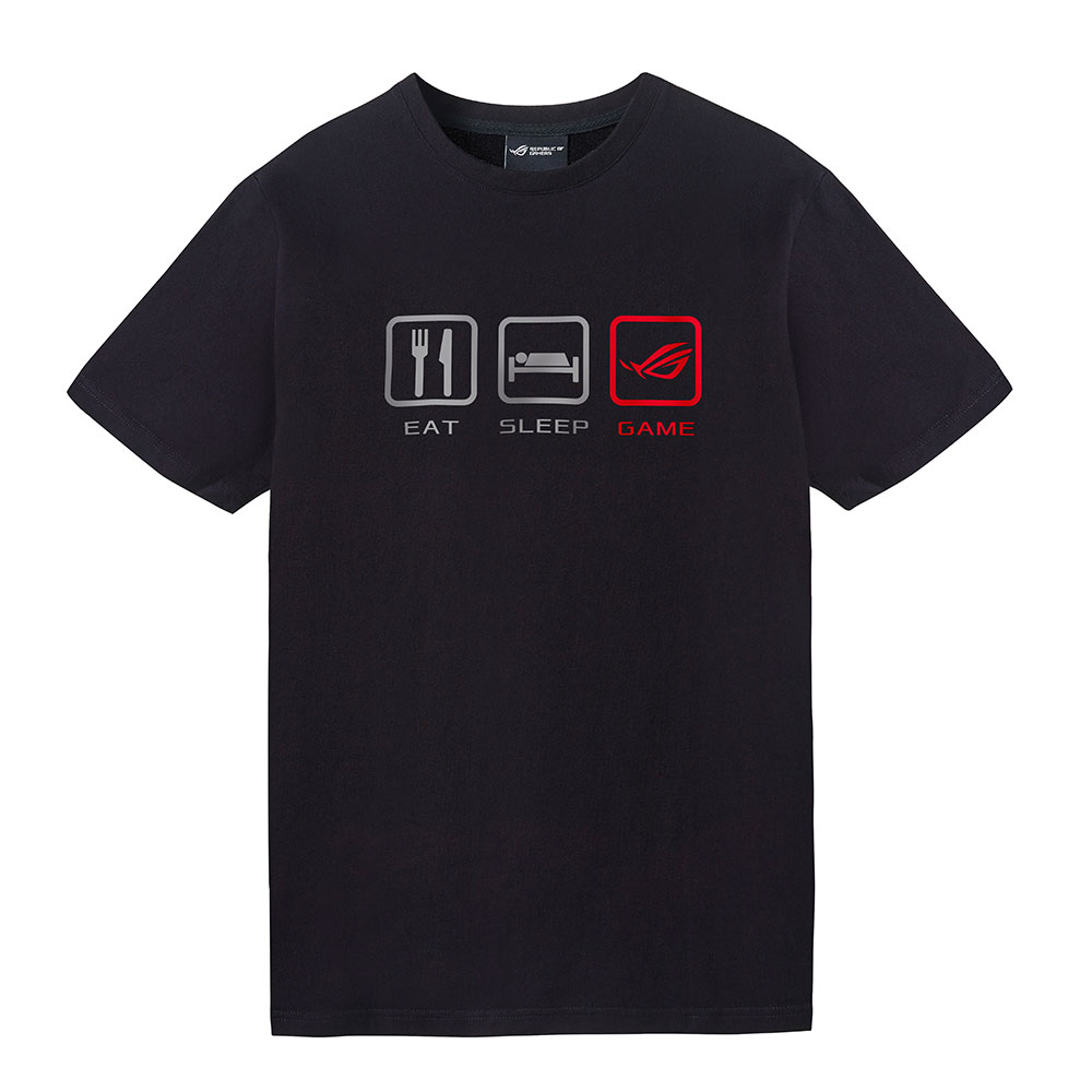 ROG T-SHIRT LIFESTYLE ブラック Mサイズ