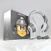 Mega Man Headphones - Silver