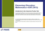 Elementary Education: Mathematics—CKT (7813), 90-Day Subscription