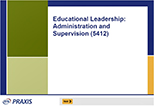 Educational Leadership: Administration and Supervision (5412), 90-Day Subscription