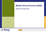 Middle School Science (5440), 90-Day Subscription