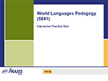 World Languages Pedagogy (5841), 90-Day Subscription