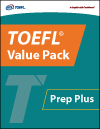 TOEFL® Value Pack Prep Plus