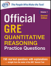Official GRE® Quantitative Reasoning Practice Questions Volume 1, Second Edition