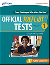 Official TOEFL iBT® Tests Volume 1, Fourth Edition