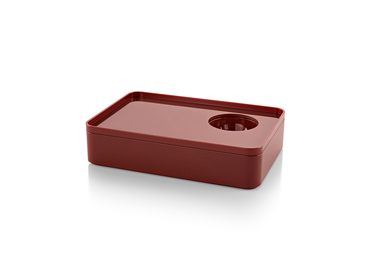 Formwork Stationery Box - Terracotta