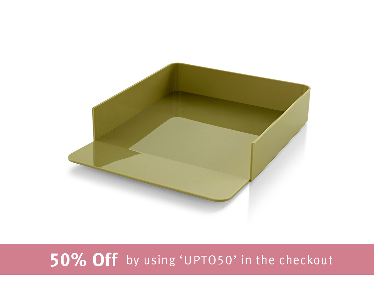 Formwork Paper Tray - Wasabi
