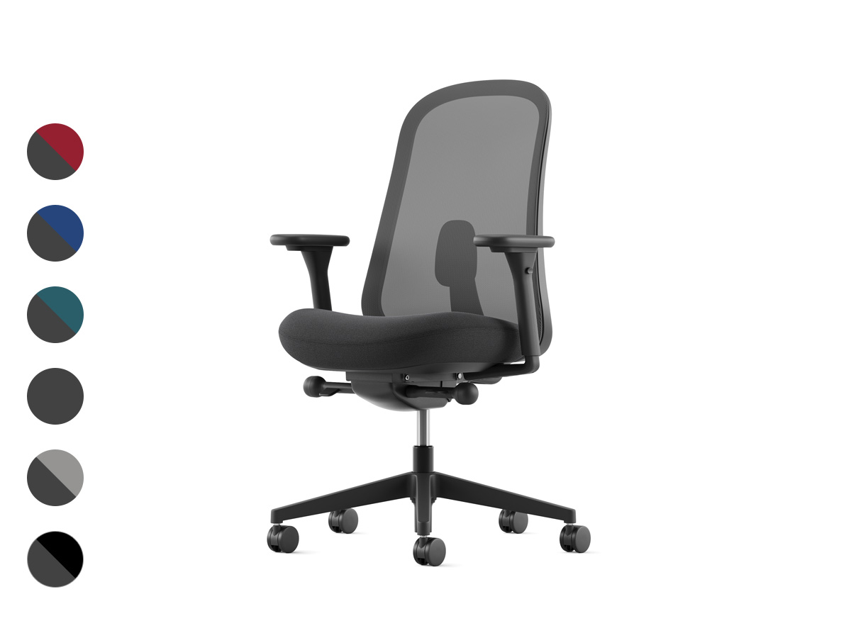 Lino Office Chair - Graphite