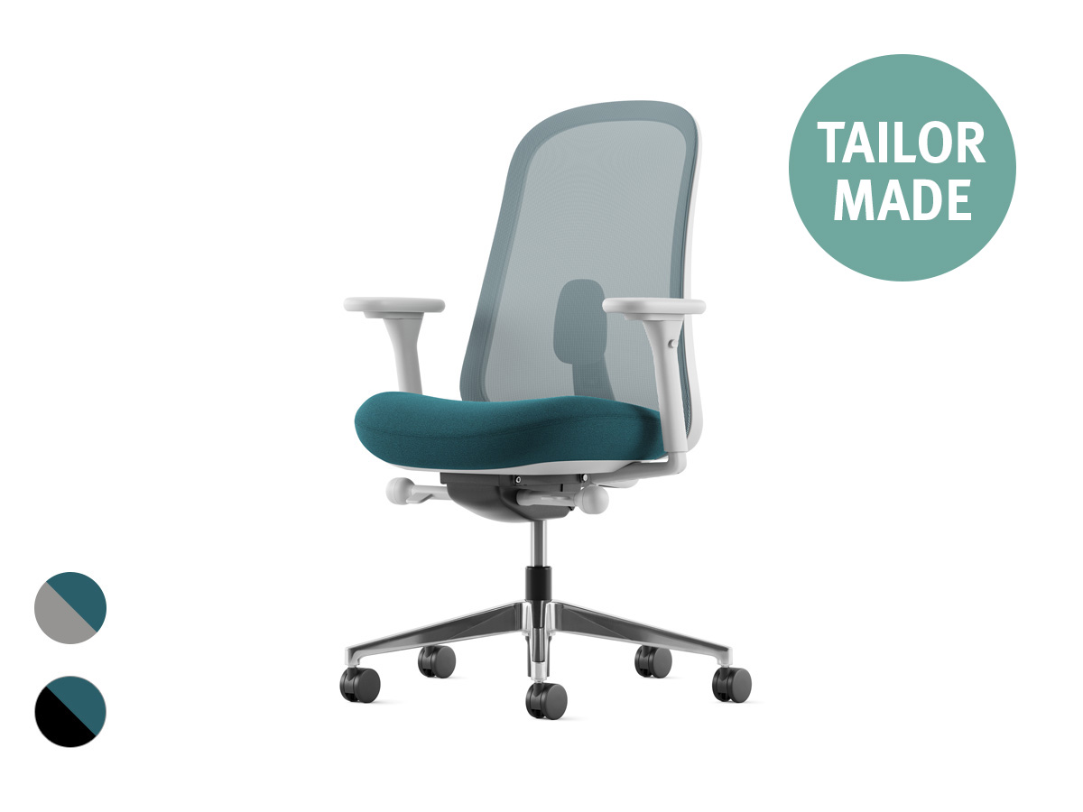 Lino Office Chair - Jade