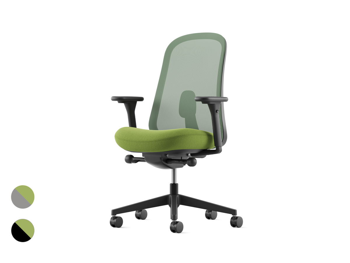 Lino Office Chair - Leaf Green