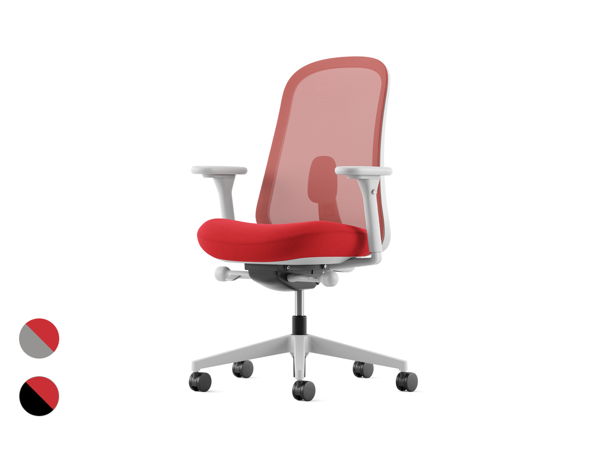 Lino Office Chair - Poppy