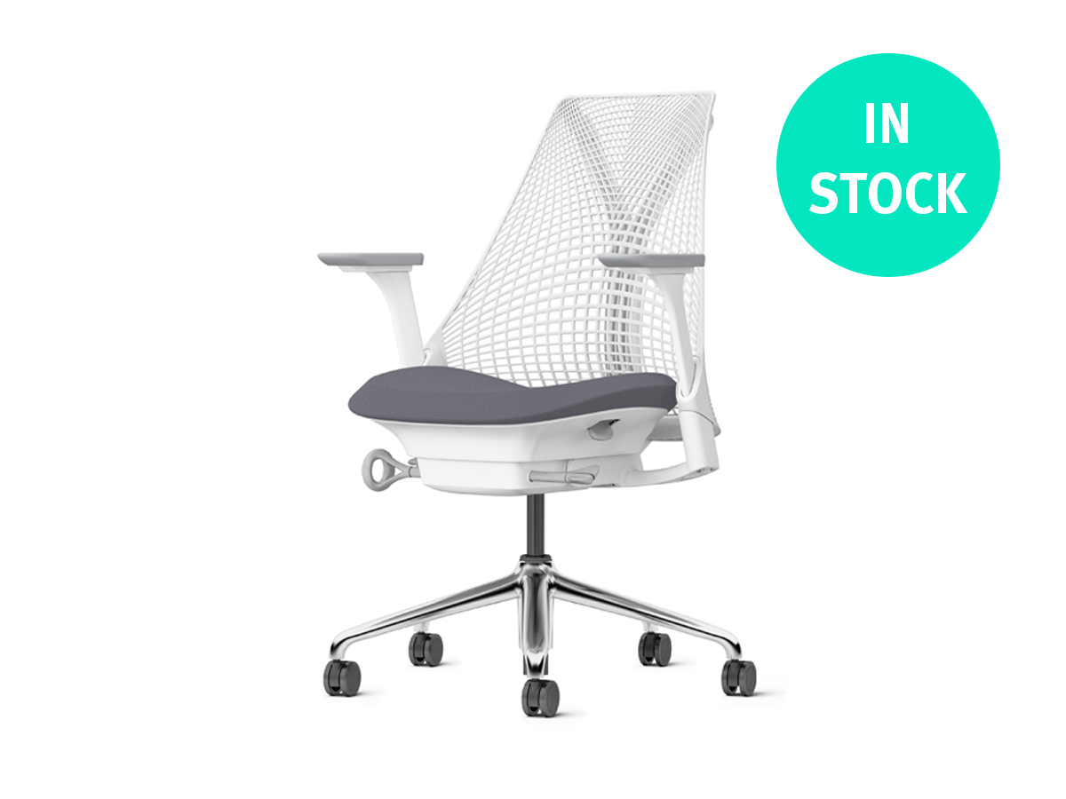 Sayl Chair - White Polished