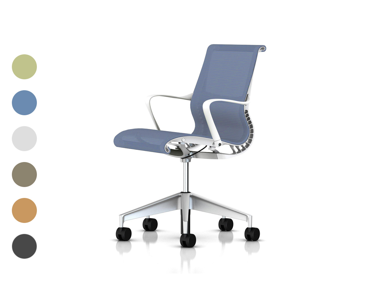 Setu Office Chair - White