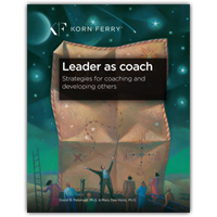 Leader as Coach: Strategies for Coaching and Developing Others
