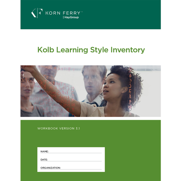 KOLB Learning Styles Inventory (KLSI) Workbook V3.1 ENG