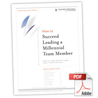 Career Architect® Express Bridging the Generation Gap: How to Succeed Leading a Millennial Team Member
