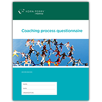 Coaching Process Questionnaire/Workbook - (CPQ) - set of 10
