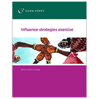 Influence Strategies Exercise Facilitator's Guide