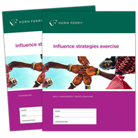 Influence Strategies Exercise (ISE) Self -Assessment/Workbook - set of 10