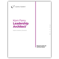 Korn Ferry Leadership Architect™ Research guide and technical manual