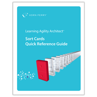 Learning Agility Architect™ Quick Reference Guide