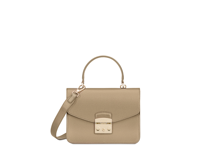 Furla Color Bronzo Top Handle Metropolis 1q01wZ