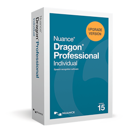 NEW Dragon Professional Individual, v15 Upgrade (from Premium 12 and up)