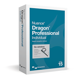 NUOVO Dragon Professional Individual, v15 Wireless