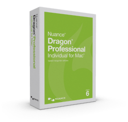 Dragon Professional Individual for Mac 6.0, Upgrade from Dragon for Mac 5.0 and Dragon Dictate 4.0