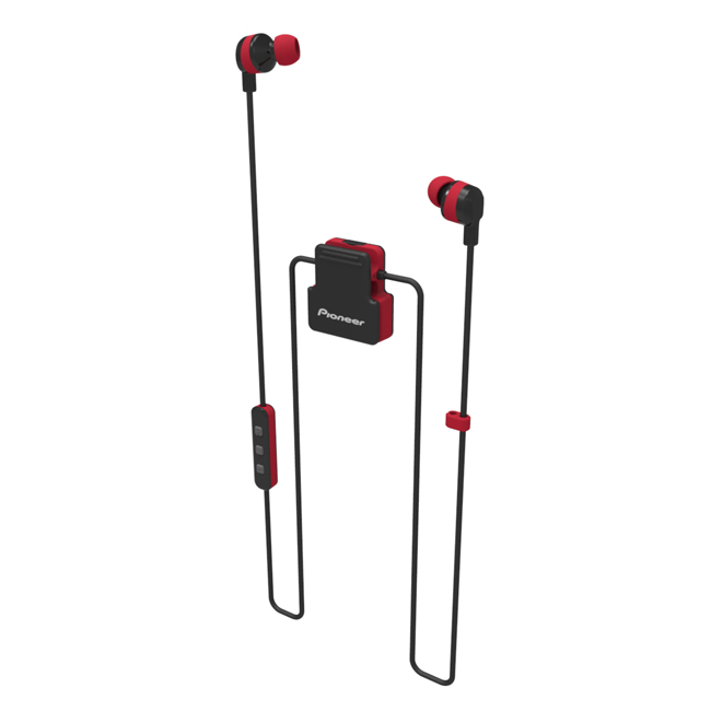 SE-CL5BT-R ClipWear Active In-Ear Wireless Headphones