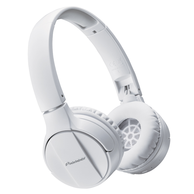 SEMJ553BTW Wireless Stereo Headphones (White)