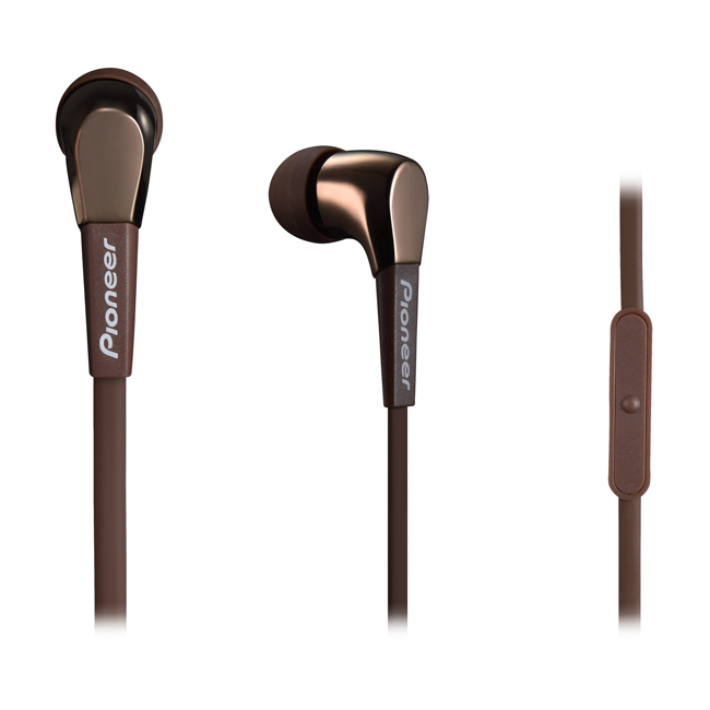 SECL722TT In-Ear Stereo Headphones (Brown)