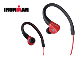 SE-E3M-R IRONMAN<sup>®</sup> Sports Earphones (Red)