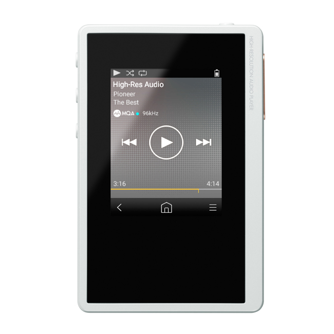 XDP-02U-W Portable Digital Audio Player (White)